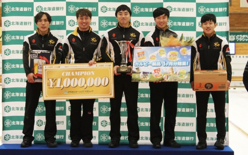 SooHyuk Kim wins Hokkaido Bank Curling Classic