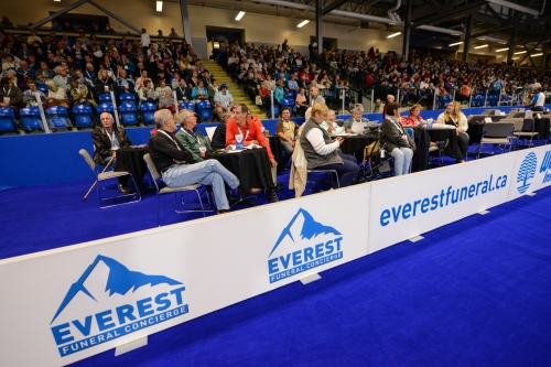 Friday at the Everest Curling Challenge