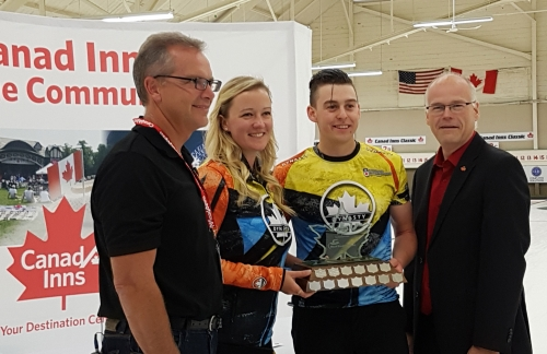 Carey/Hodgson win Canad Inns Mixed Doubles Classic