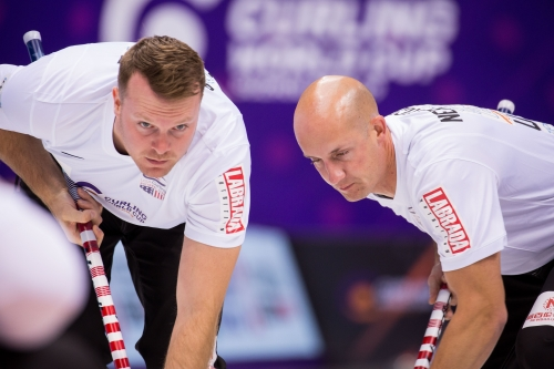 Team Ruohonen at Curling World Cup Suzhou