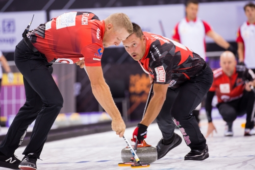 Men's Action at Curling World Cup Suzhou