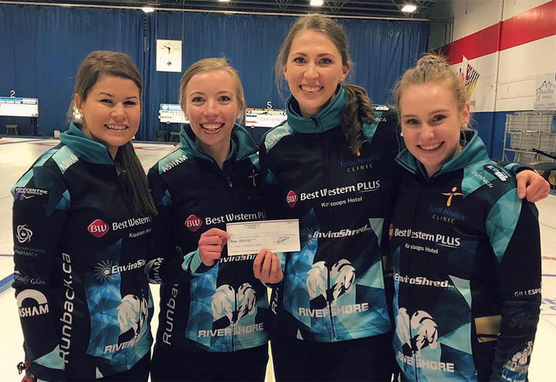 Corryn Brown wins King Cash Spiel