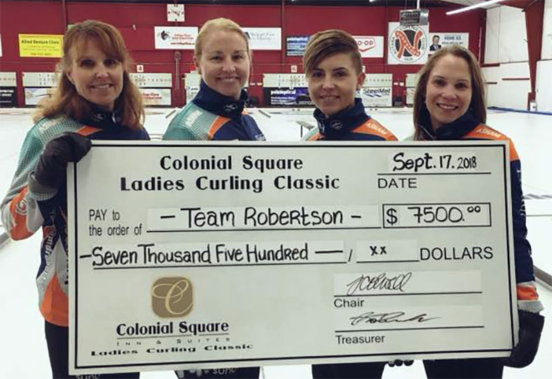Darcy Robertson wins Colonial Square Ladies Classic