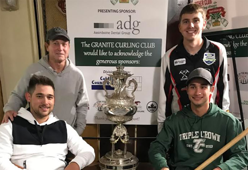Tanner Lott wins Mother Club Fall Curling Classic