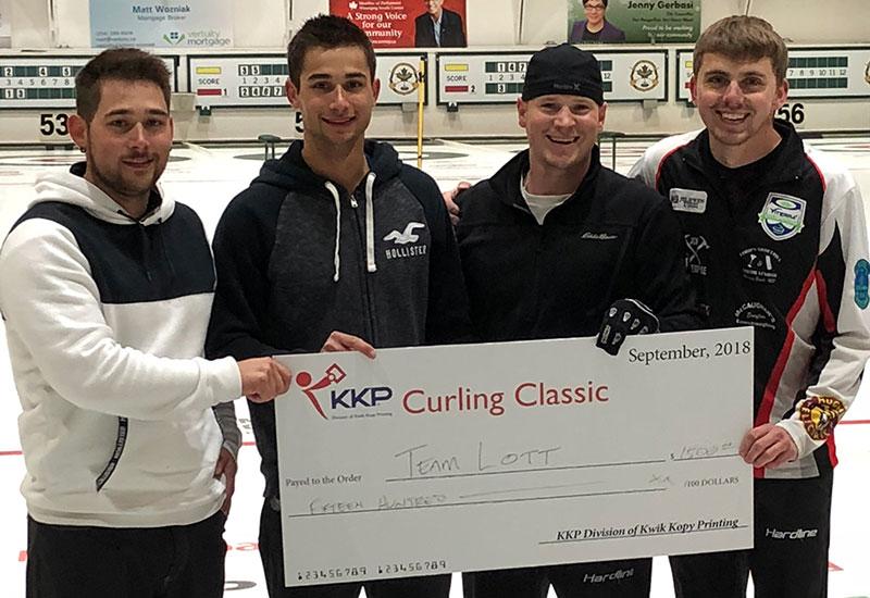 Tanner Lott wins KKP Classic