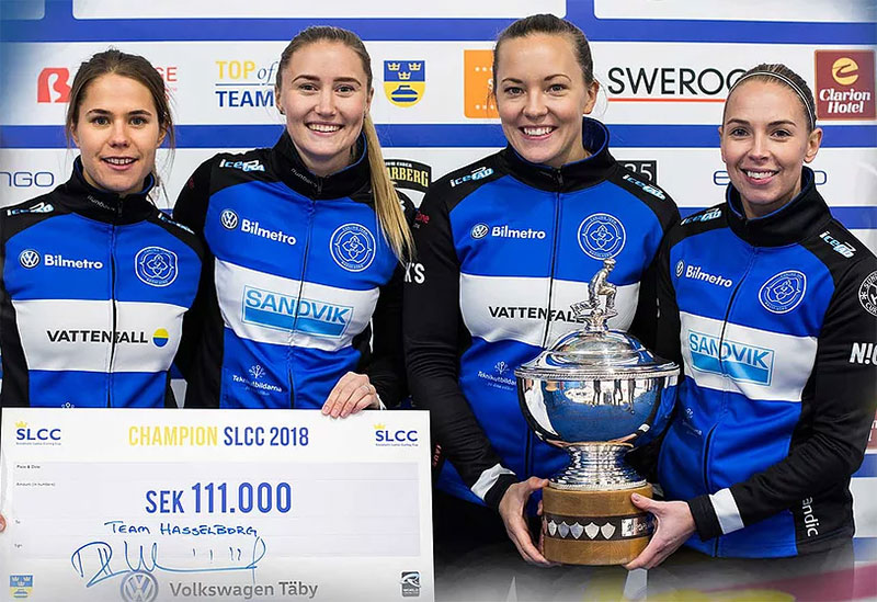 ANNA HASSELBORG WINS STOCKHOLM LADIES CURLING CUP