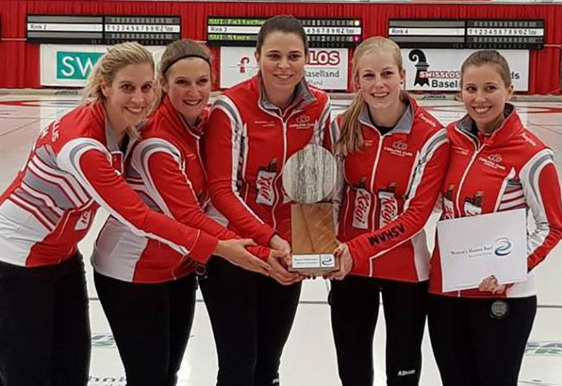World Curling Tour: Elena Stern wins Womens Masters Basel