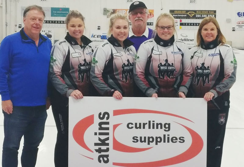 Barb Spencer wins Atkins Curling Supplies Classic
