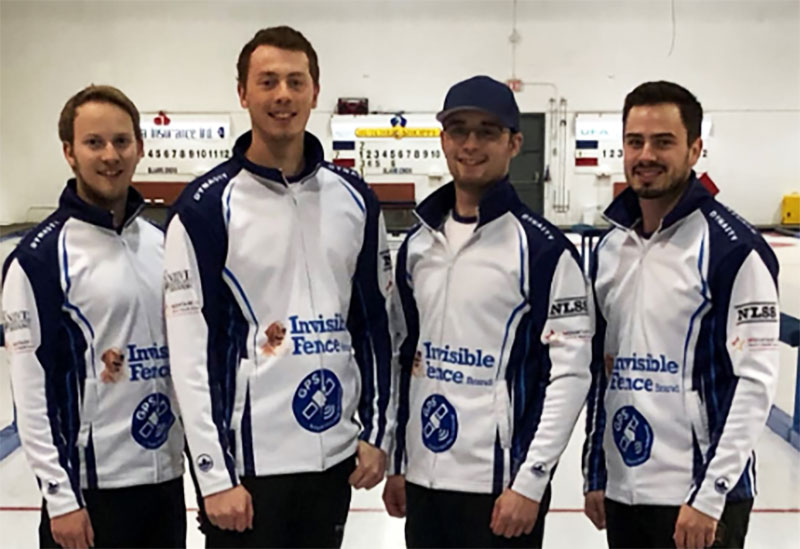 JEREMY HARTY WINS MCKEE HOMES FALL CURLING CLASSIC