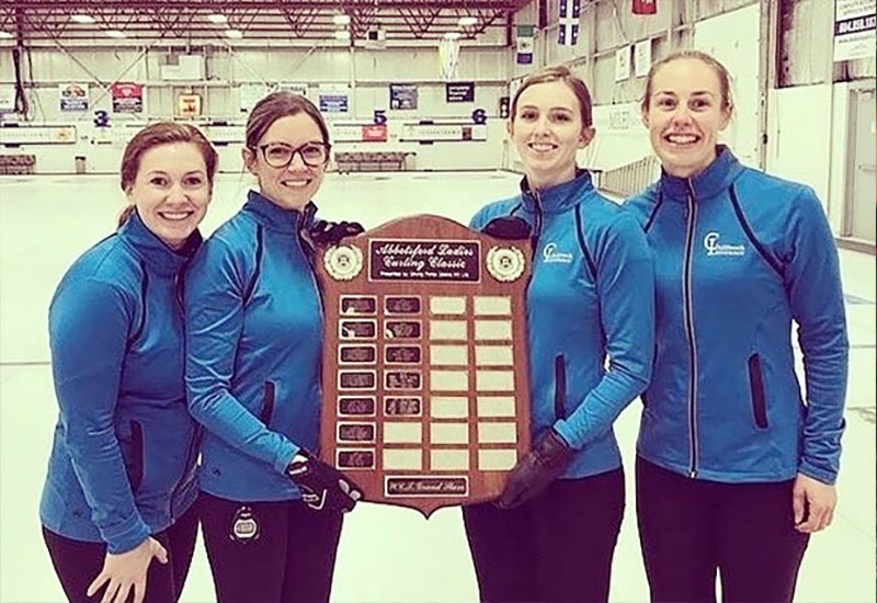 Sarah Wark wins Driving Force Abbotsford Cashspiel