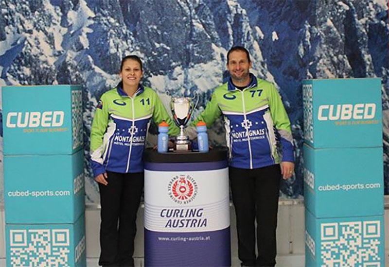 Emilie Desjardins wins WCT Austrian Mixed Doubles Cup