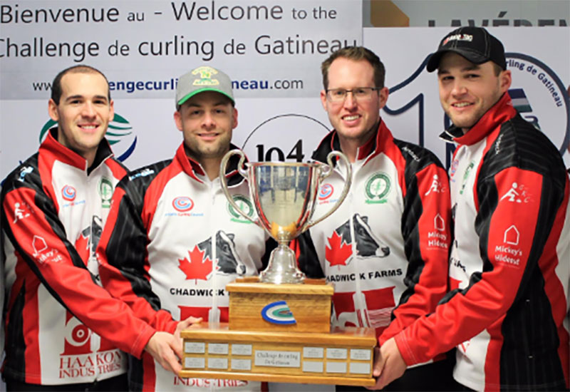Scott McDonald wins Challenge de Curling de Gatineau