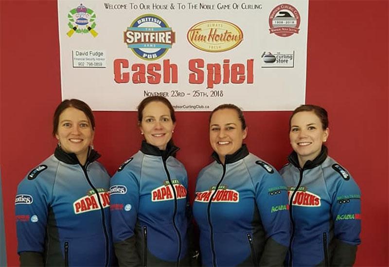 Sylvie Robichaud wins Tim Hortons Spitfire Arms Cash Spiel