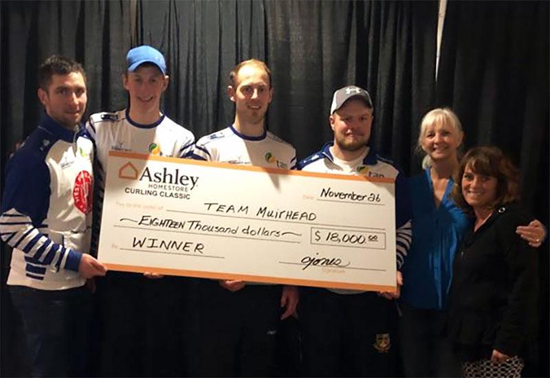 Glen Muirhead wins Ashley HomeStore Curling Classic