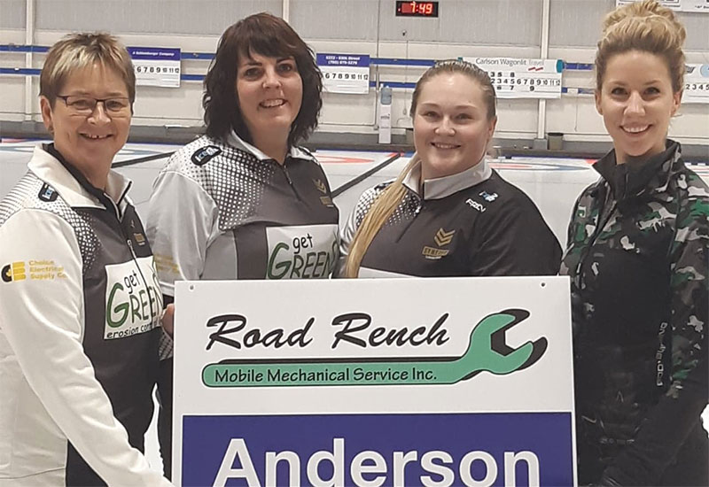SHERRY ANDERSON WINS BOUNDARY FORD CURLING CLASSIC