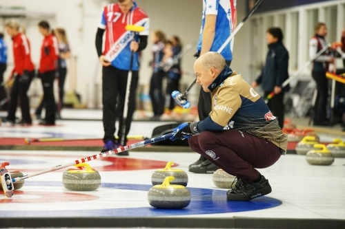 Friday at the 2018 Curl Mesabi Classic