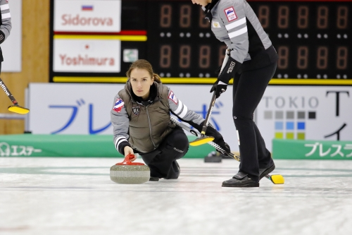 Anna Sidorova wins International Bernese Ladies Cup