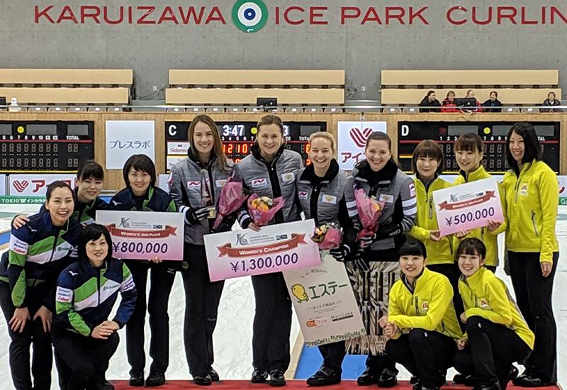 ANNA SIDOROVA WINS KARUIZAWA INTERNATIONAL