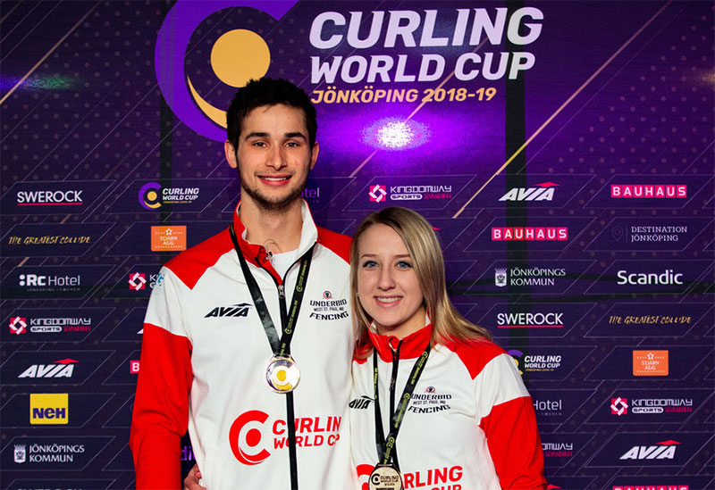 Canada's Sahaidak/Lott Win World Cup Mixed Doubles Gold