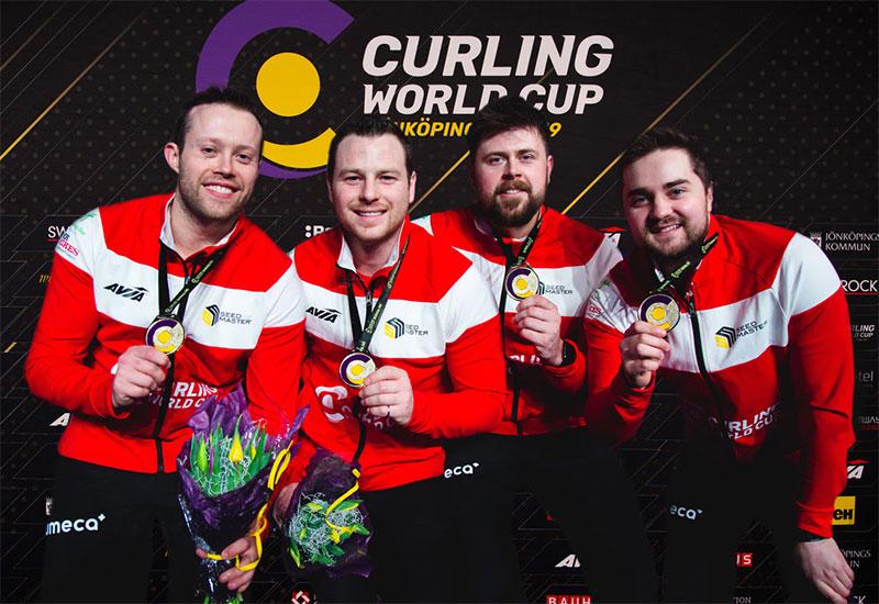 CANADA'S MATT DUNSTONE WINS CURLING WORLD CUP
