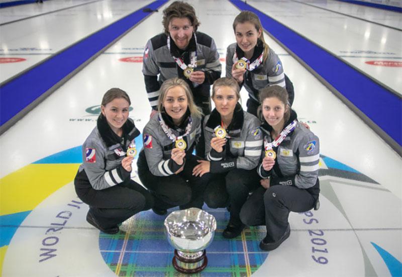 RUSSIA WINS WORLD JUNIOR WOMEN'S GOLD