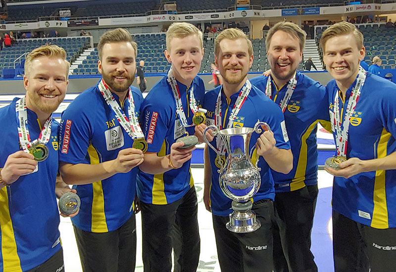 Sweden win World Championship title