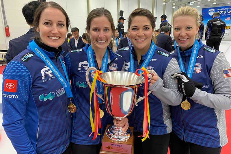 USA's Roth wins Uiseong International Curling Cup