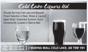 Proudly serving Cold Lake and beyond! Finest selection on beer, wine and liquors! Located in the Marina Mall Cold Lake.