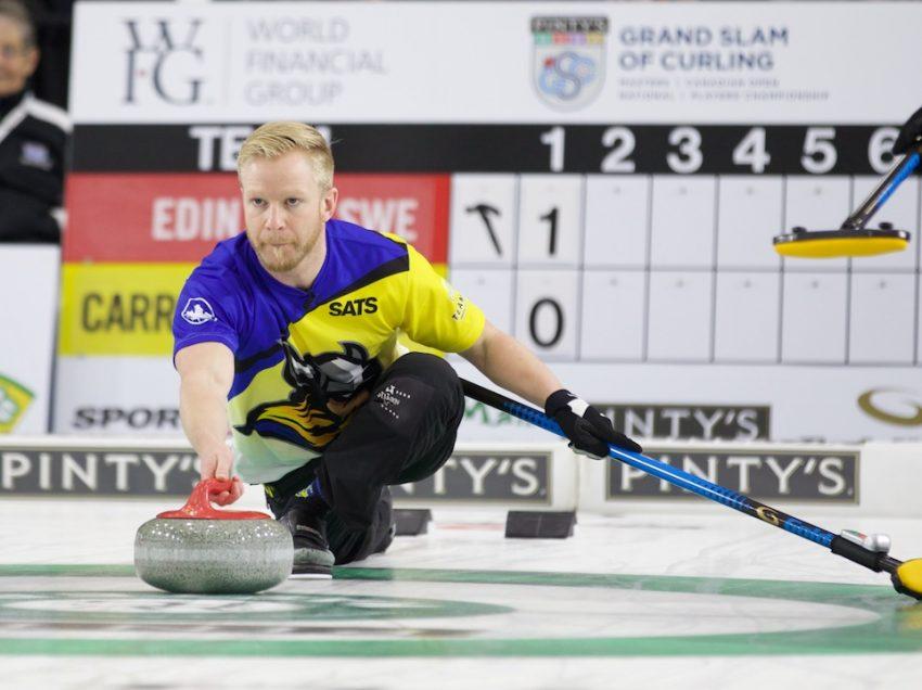 #1 Ranked Edin Opens Season in Baden