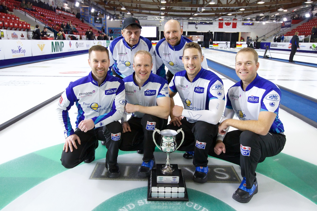Brad Gushue wins Masters of Curling