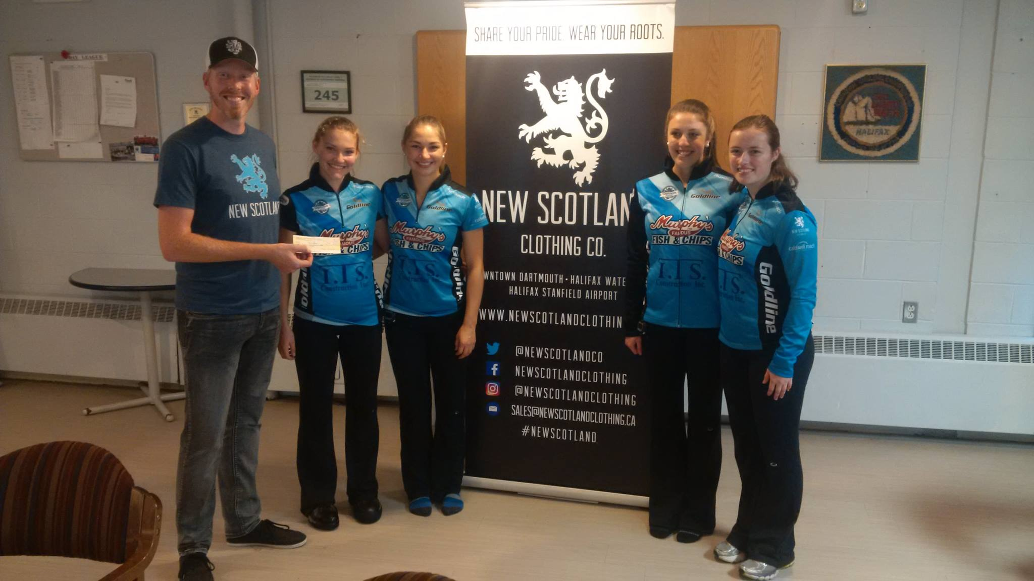 KAITLYN JONES WINS NEW SCOTLAND CLOTHING LADIES CASHSPIEL