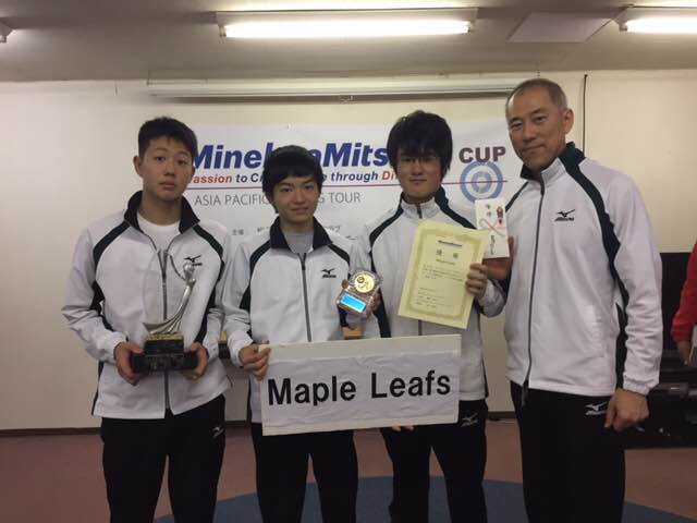 Satoru Tsukamoto wins Minebea Mitsumi Cup