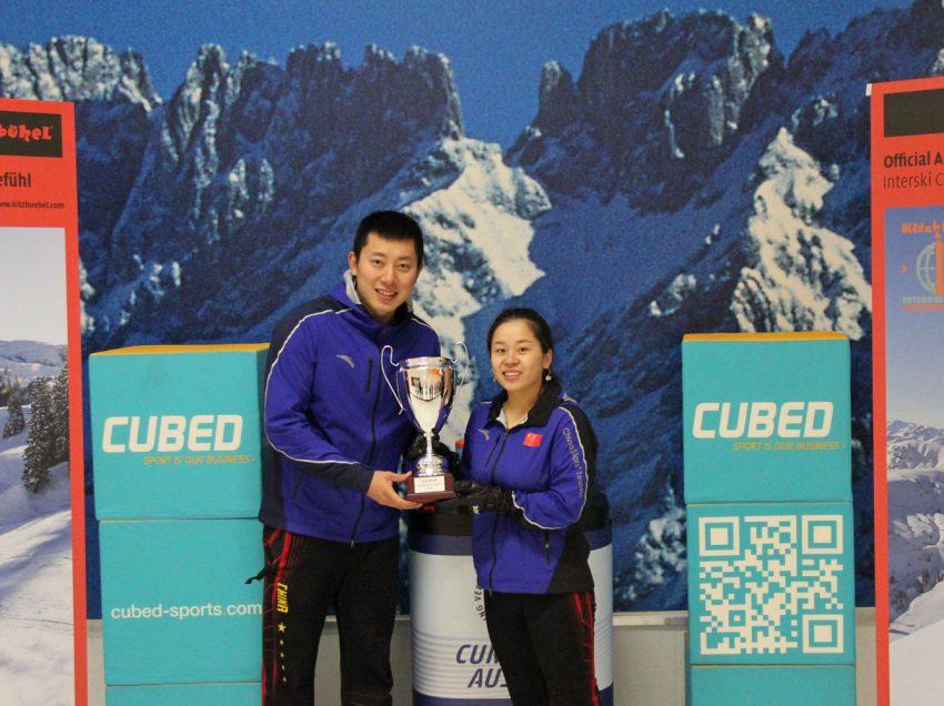 China's Wang/Ba win WCT Austrian Mixed Doubles Cup