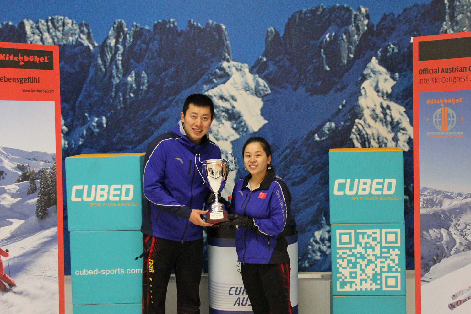 China's Wang/Ba win WCT Austrian Mixed Doubles Cup