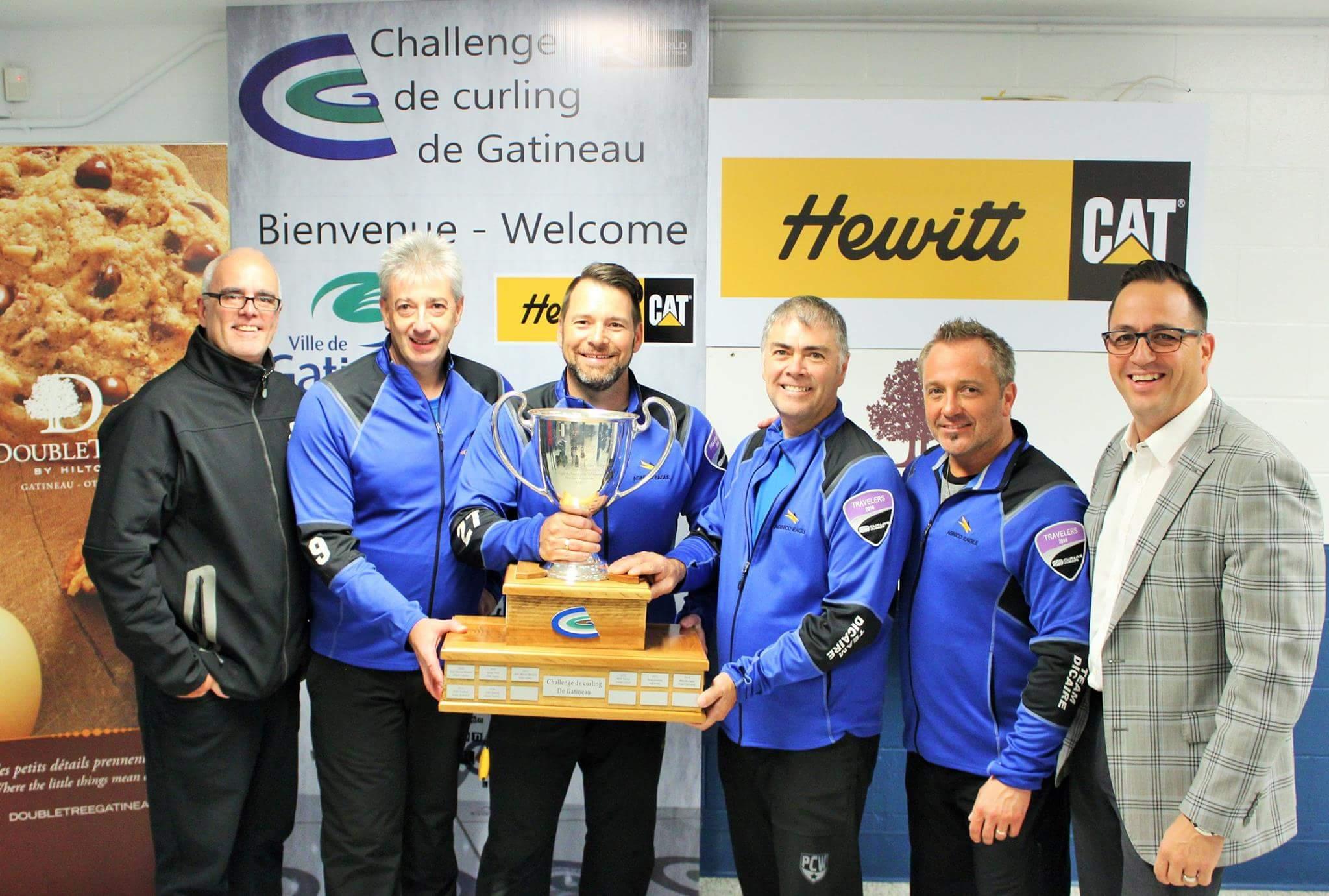 Sylvain Dicaire wins Challenge de Curling de Gatineau Open