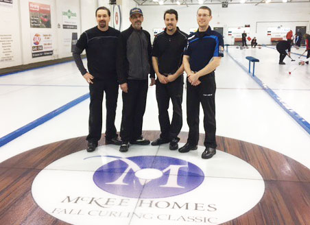 Kevin Park wins McKee Homes Fall Curling Classic