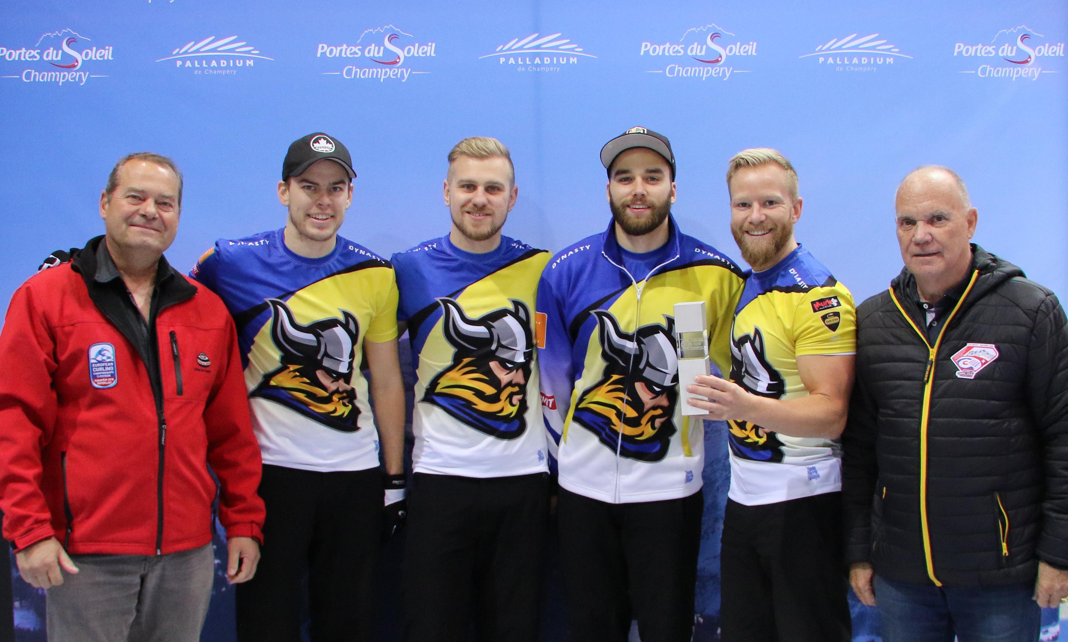 Niklas Edin wins Curling Masters Champery