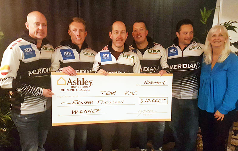 Kevin Koe wins Ashley Home Store Curling Classic