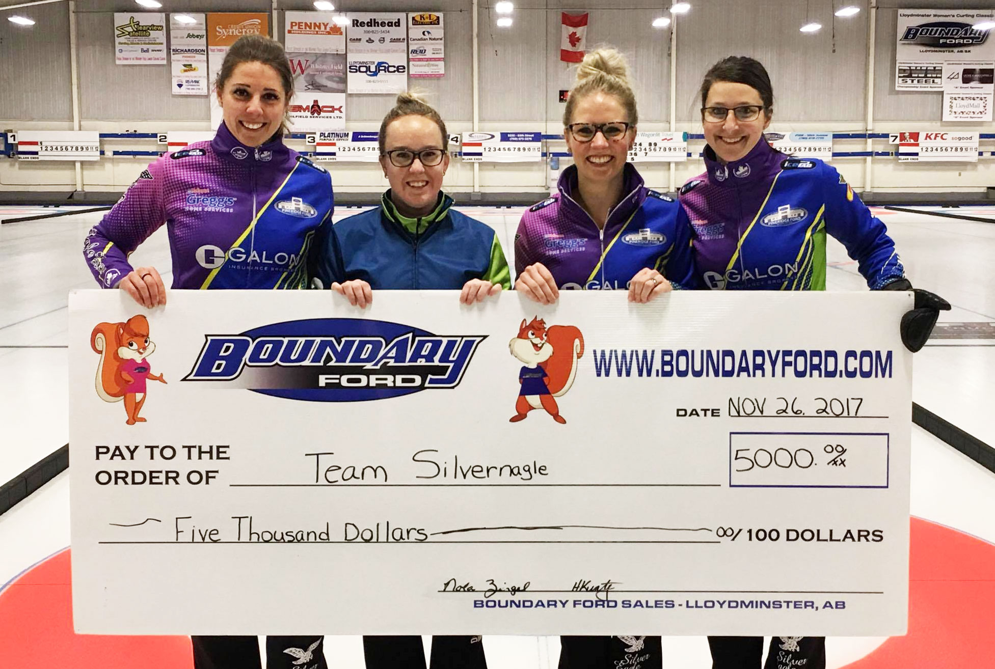 Robyn Silvernagle wins Boundary Ford Curling Classic