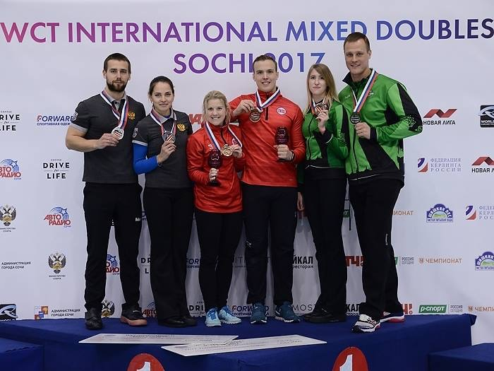 NORWAY'S SKASLIEN/NEDREGOTTEN WIN INTERNATIONAL MIXED DOUBLES SOCHI