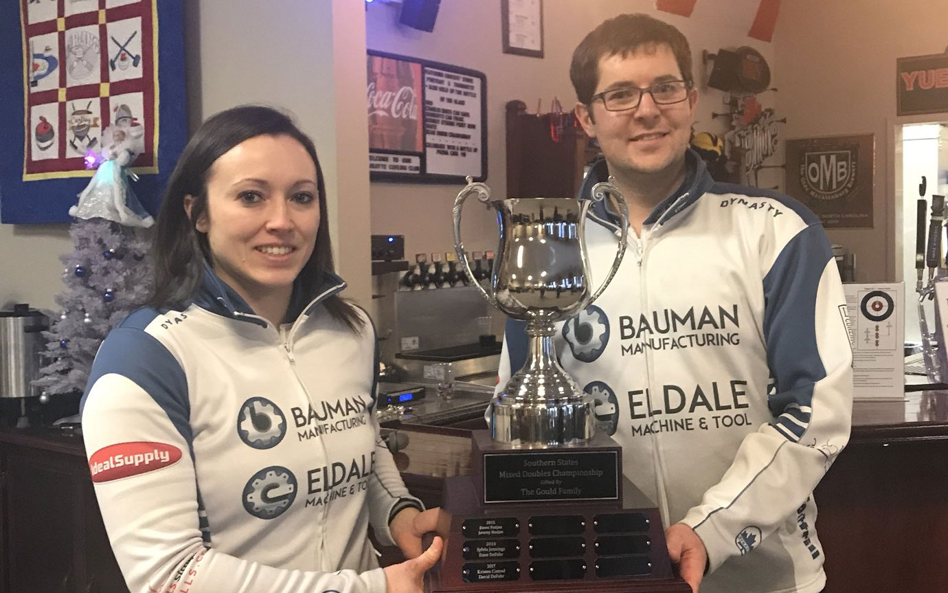 Cottrills win Southern States Mixed Doubles