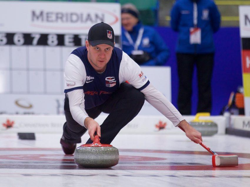 USA's John Shuster Splits at Canadian Open
