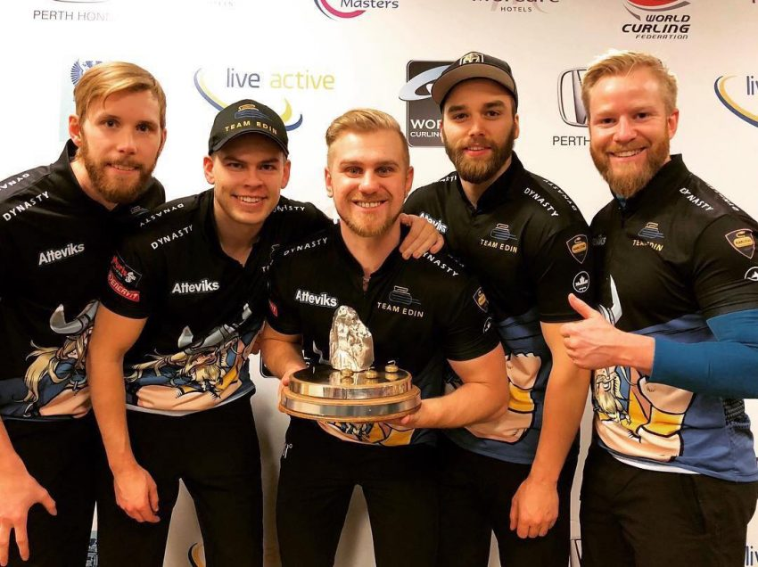 Edin wins Mercure Perth Masters