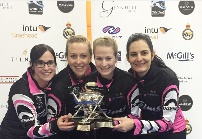 Binia Feltscher wins Glynhill Ladies International