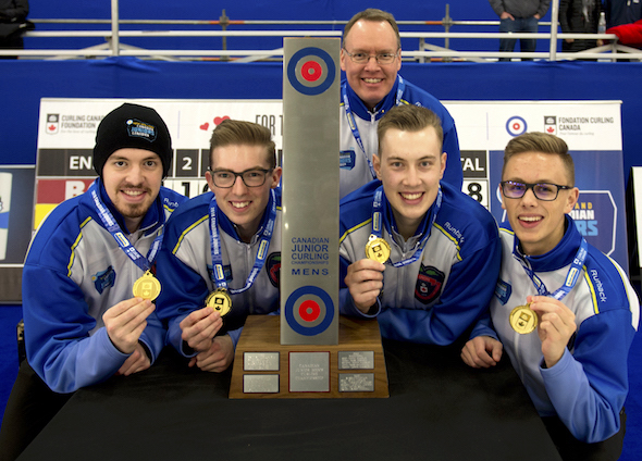 BRITISH COLUMBIA WINS NEW HOLLAND CANADIAN JUNIOR MENS CHAMPIONSHIP