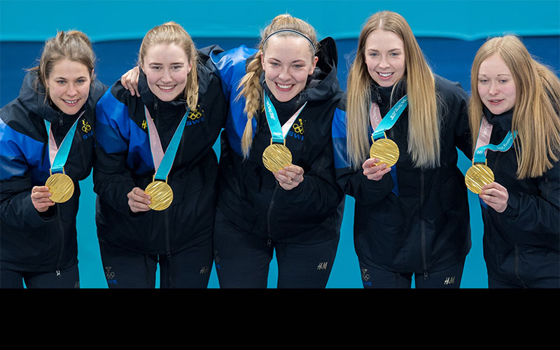 Sweden's Hasselborg Wins Olympic GOLD