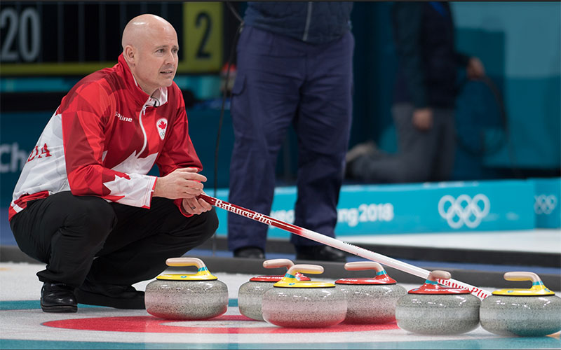 Canada's Koe Top Of Olympic Curling Standings