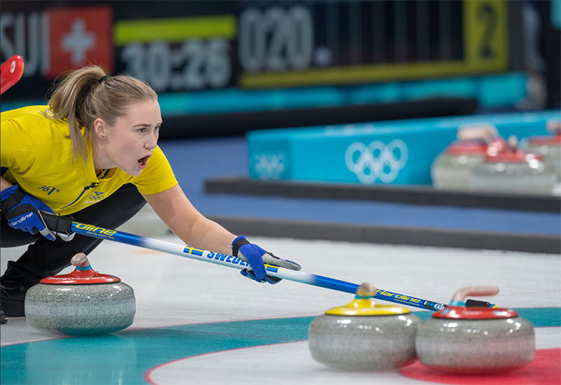 SWEDEN WOMEN STAND ALONE AT TOP OF OLYMPIC TABLE