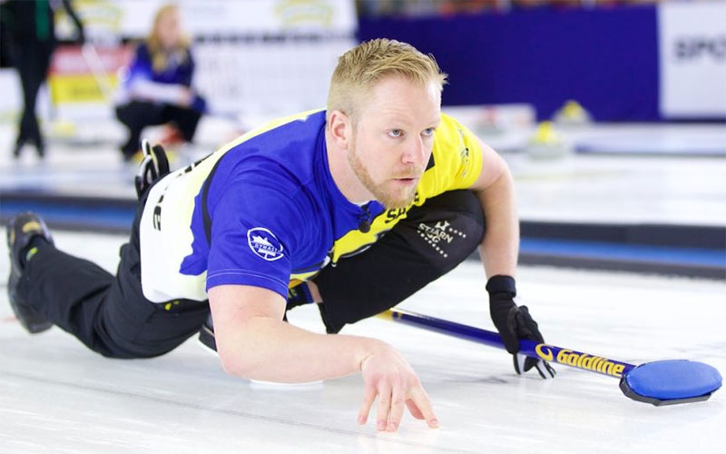 Sweden Men Drop Canada to Top Olympic Standings