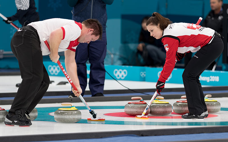 Switzerland Joins Canada in Battle for Olympic Doubles Curling Gold